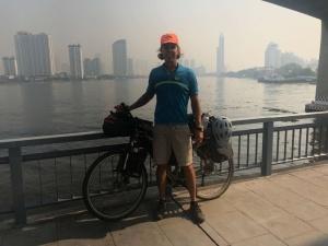 Bicycle on Bridge Bangkok