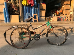 Old Bicycle in Thailand