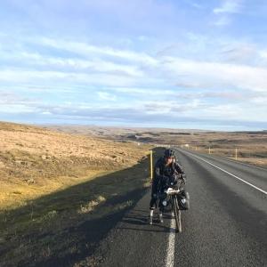 Pushing Bicycle Ring Road