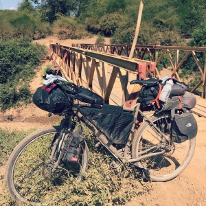 Bicycle in Laos