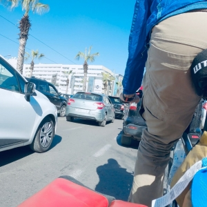 Bicycle Traffic Casablanca