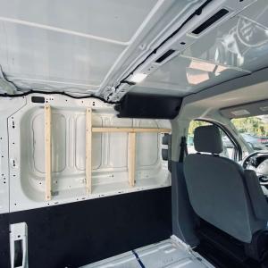 Wall Framing Ford Van Conversion